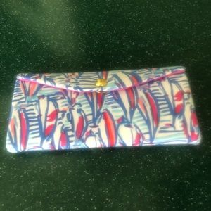 "Lilly Pulitzer ""Red Right Return"" Sunglasses Case"